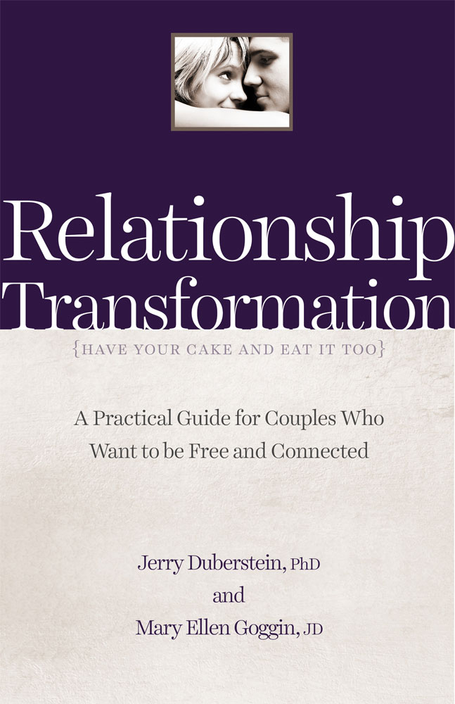 Relationship Transformation - BookCover